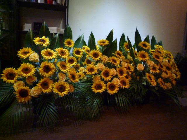造花ひまわり