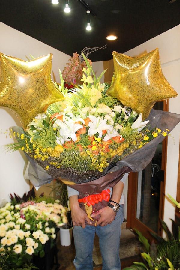 大きい花束
