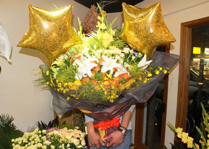 季節の花束特大サイズ