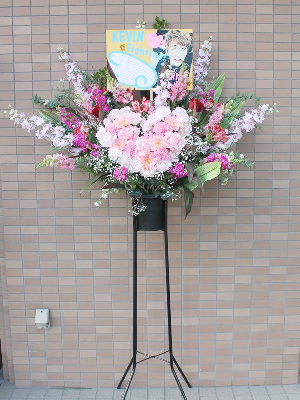 ハートマークスタンド(造花)
