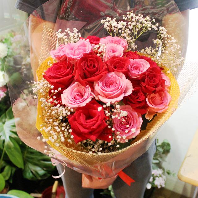 バラの花束 ワンサイド